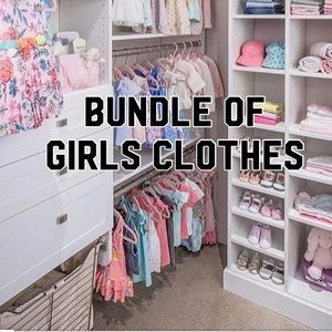 Other - Mystery Bundle of Girls Clothes Mixed 9-12 Months